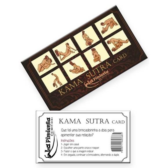 RASPADINHA KAMA SUTRA CARD (5 unidades)