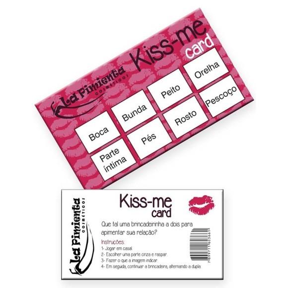 RASPADINHA KISS-ME CARD LA PIMIENTA