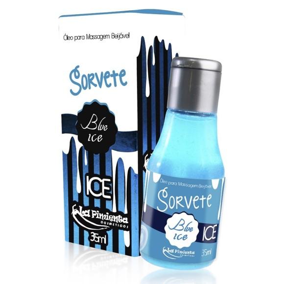 ÓLEO BEIJÁVEL SORVETE BLUE ICE 35ml LA PIMIENTA