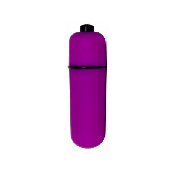 BULLET VIBRATING MASSAGER 5,5 CM ROXO METALICO DAN