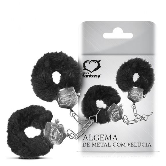 ALGEMA DE METAL C/ PELÚCIA SEXY FANTASY