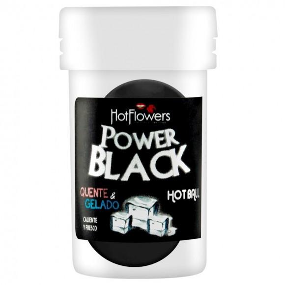BOLINHA BEIJÁVEL POWER BLACK 02 UNIDADES HOT FLOWERS