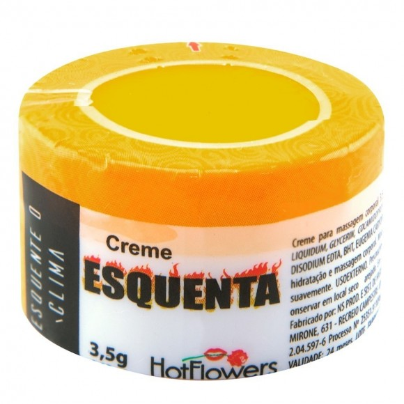 ESQUENTA CREME FUNCIONAL 3,5g HOT FLOWERS