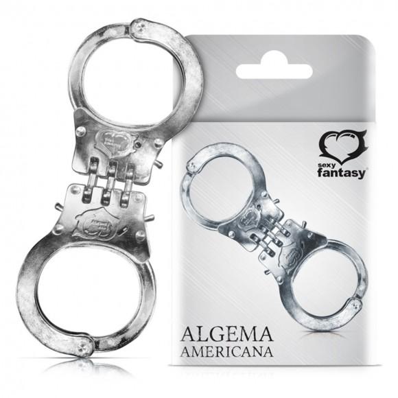 ALGEMA AMERICANA EM METAL SEXY FANTASY
