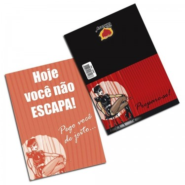 CARTÃO PREPARE-SE SEXY FANTASY