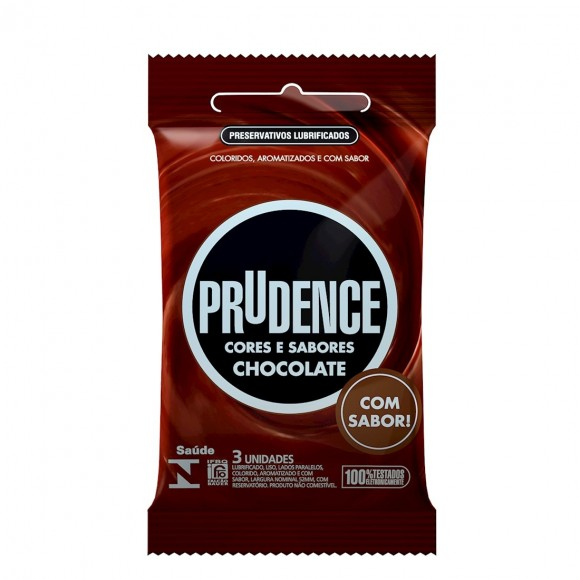 PRESERVATIVO PRUDENCE CHOCOLATE PRUDENCE