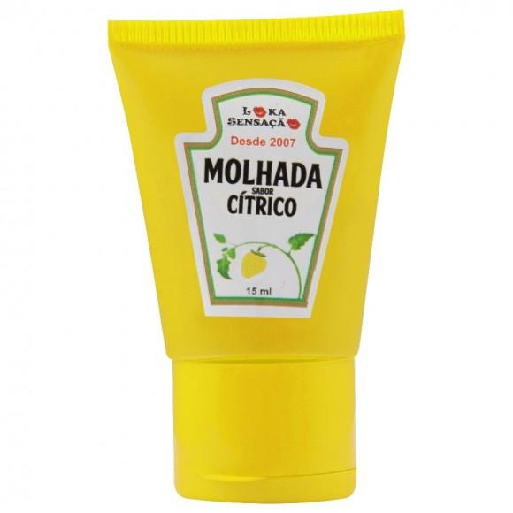 MOLHADA BALA EM GEL 15ml LOKA SENSAÇÃO