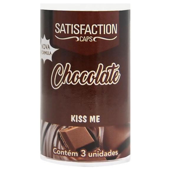 SATISFACTION KISS ME BOLINHA BEIJÁVEL CHOCOLATE 9G