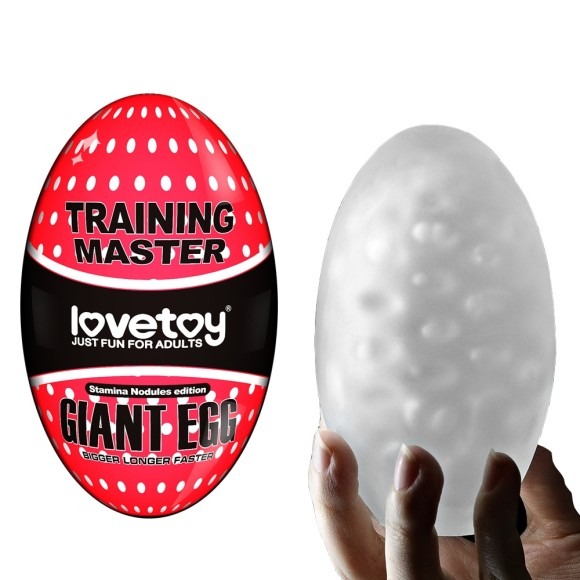 Giant Egg  Masturbador Masculino Ovo Gigante